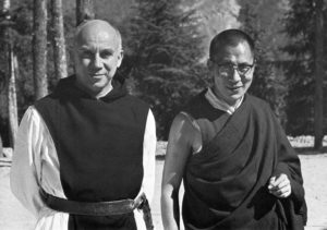 Thomas Merton with the Dalai Lama